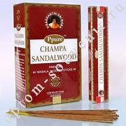 Благовония CHAMPA SANDALWOOD, PPURE, оптом
