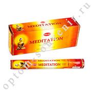 Благовония Медитация, HEM, 6 шт., оптом