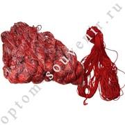 Шерстяная красная нить, 300м., оптом