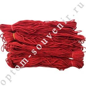 Красная нить из шерсти, 600м., оптом