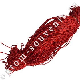 Красная шерстяная нить, 800м., оптом