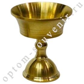 Чаша-лампада БУДДИЙСКАЯ, медная, 38 мм., оптом