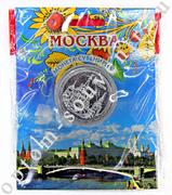 Сувенирная монета МОСКВА, оптом