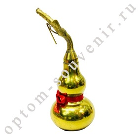 Талисман ТЫКВА-ГОРЛЯНКА, 12,5х5 см., оптом